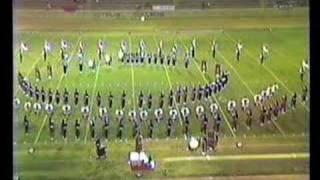 Glendora H.S. Marching Band Pt2@1985 Azusa Field Tournament