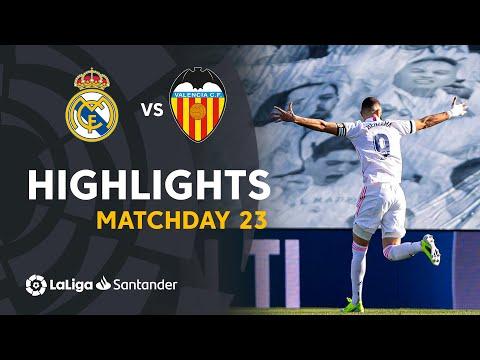 Highlights Real Madrid vs Valencia CF (2-0)