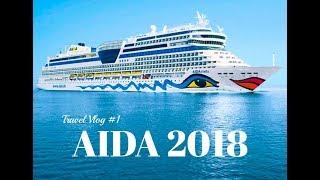 Travel Vlog #1 | First days on AIDA Stella