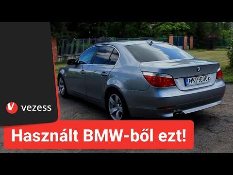Használt BMW-ből ezt vedd, ha (E60) ötöst akarsz letöltés