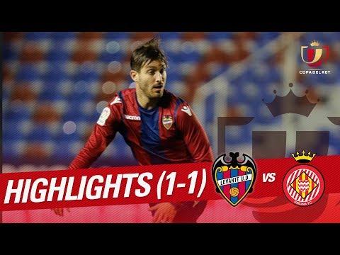 Resumen de Levante UD vs Girona FC (1-1)