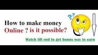 how to make money online || steemit || steem