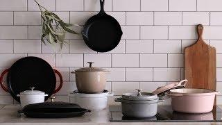 🥘무쇠 냄비 길들이기 l 시즈닝 l 세척&보관법 알고 사용하세요~ : Cast iron Dutch oven seasoning techniques [아내의 식탁]