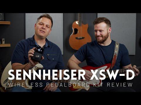 Sennheiser XSW-D Wireless Pedalboard Set Review (Wireless guitar unit)