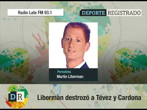Liberman destrozó a Tévez y Cardona