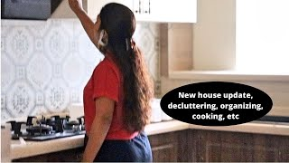 New house updates, Decluttering, Organizing, Cooĸing etc. | How to make Home-made Ghee step by step?