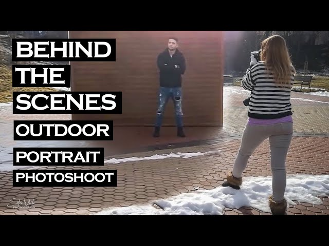 Behind The Scenes Winter Photoshoot With an Actor - Jori | Estee White Photography