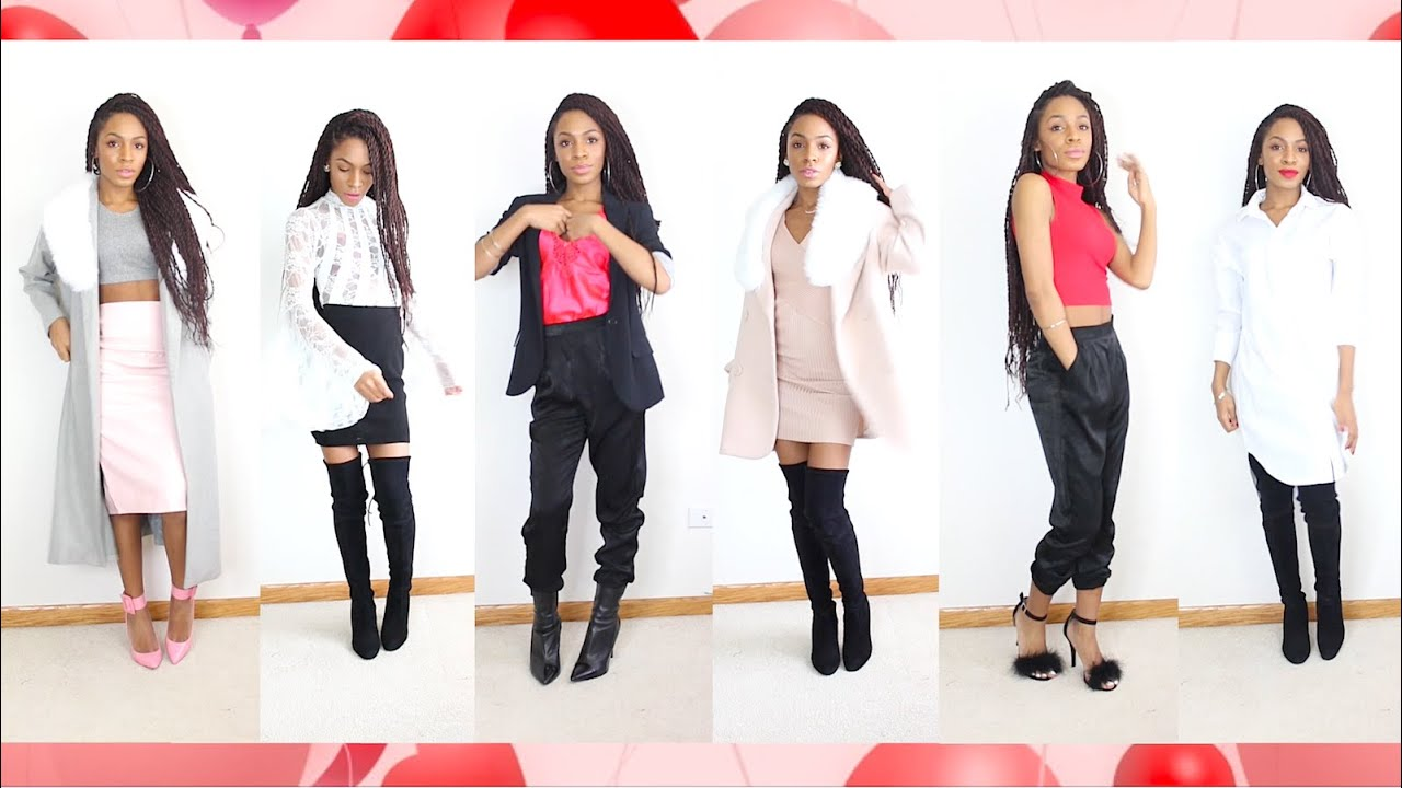 Valentine S Day Lookbook Vickylogan Youtube