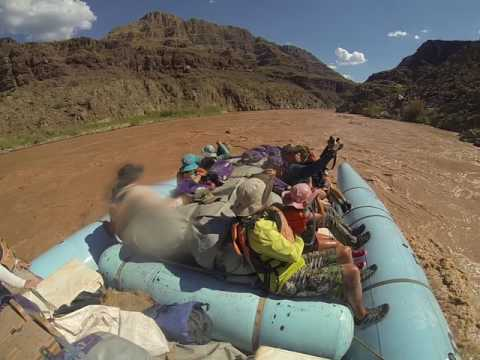 Butterbean and Lily vs the Colorado River in the Grand Canyon