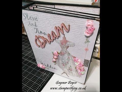 Tutorial #2 Stamperia Wedding Album thumbnail
