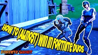 HOW TO (ALMOST) WIN FORNTITE DUOS | FORTNITE CINEMATIC/SHORT/FILM | TWITCH PRIME SKIN | TRAILBLAZER