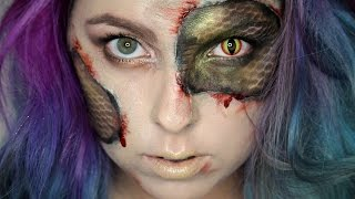 Hadí Žena / Napůl Drak Halloween Tutorial