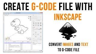 G Oluşturma-kod Inkscape ile Resim ve Metin kullanarak GRBL CNC için Dosya