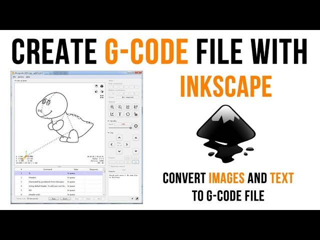 How to Create G-Code File with InkScape - CTooM