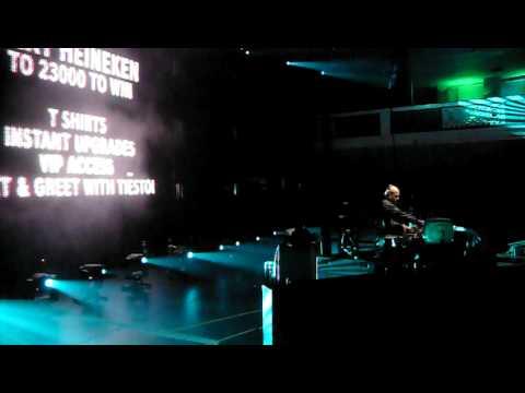 Isaiah Martin opening for Tiesto