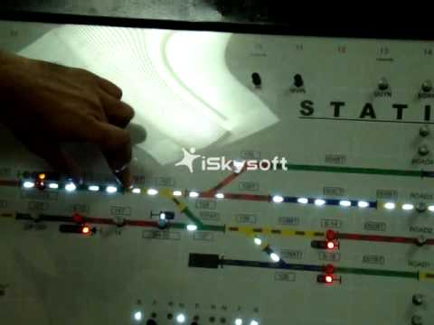 Rail Signalling Working Model - XIII