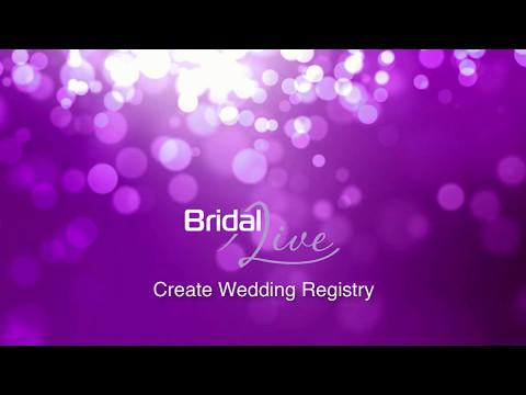 Create Wedding Registry