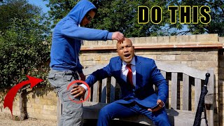 How to defend yourself from sitting down