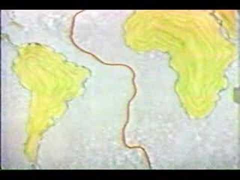 MID-ATLANTIC RIDGE SYSTEM Lesson 4 - Plate tectonics