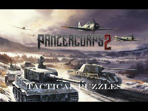 Panzer Corps 2 | Tactical Puzzle | No. 5 Cat Trap |