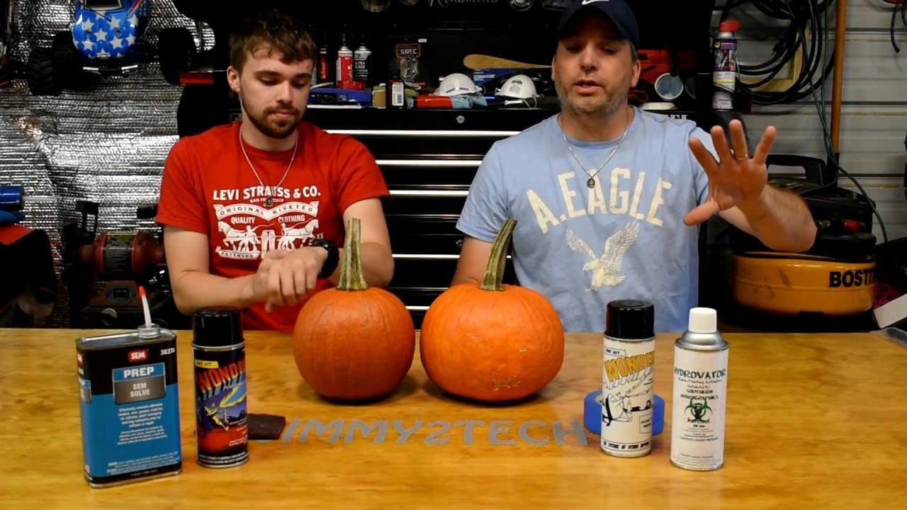 6136138e3adbd2 Hydro-dipping a REAL Pumpkin! - YouTube
