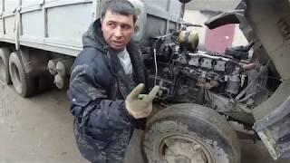 ремонт механизма переключения делителя КамАЗ ( гитара)