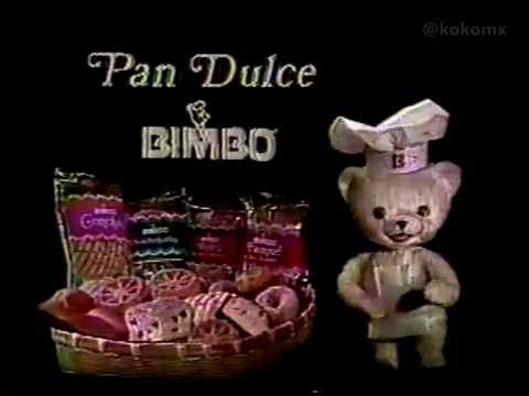 Comerciales 80s - Pan dulce Bimbo