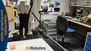 Adaptive Robotic Gripper. Grasping hot-dogs