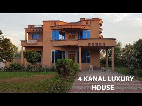 Beautiful 4 KANAL LUXURY HOUSE IN PUNJAB VILLAGE