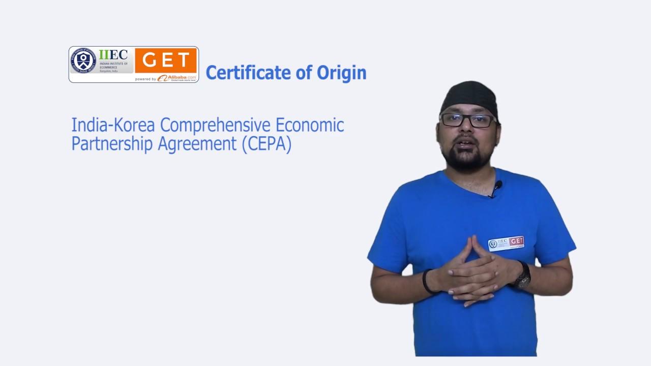 Certificate of origin youtube certificate of origin egtp india yadclub Image collections