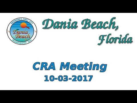 10-03-2017 Dania Beach CRA Director Interviews