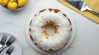 Beautiful Lemon Bundt Cake