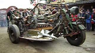 Größtes Motorrad mit einem Panzermotor