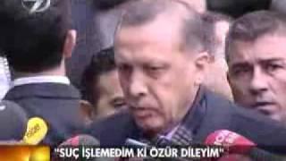 basbakan Erdogan'dan ermeni ozrune cevap