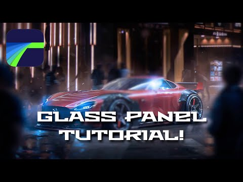 Glass Panel How