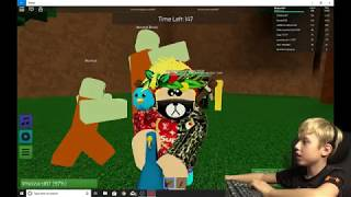 Gaming with Epic Eli /ROBLOX episode #2 (Murder mystery 2, Natural disaster survival, Zombie rush)