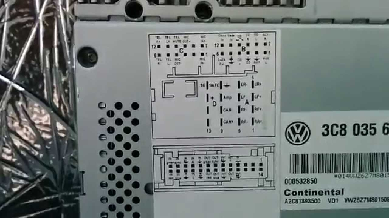 maxresdefault vw cc 2013 amp diy installation youtube 2010 vw cc radio wiring diagram at gsmx.co