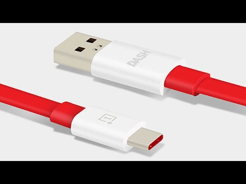 OnePlus Dash Charge Type-C Cable Unboxing.