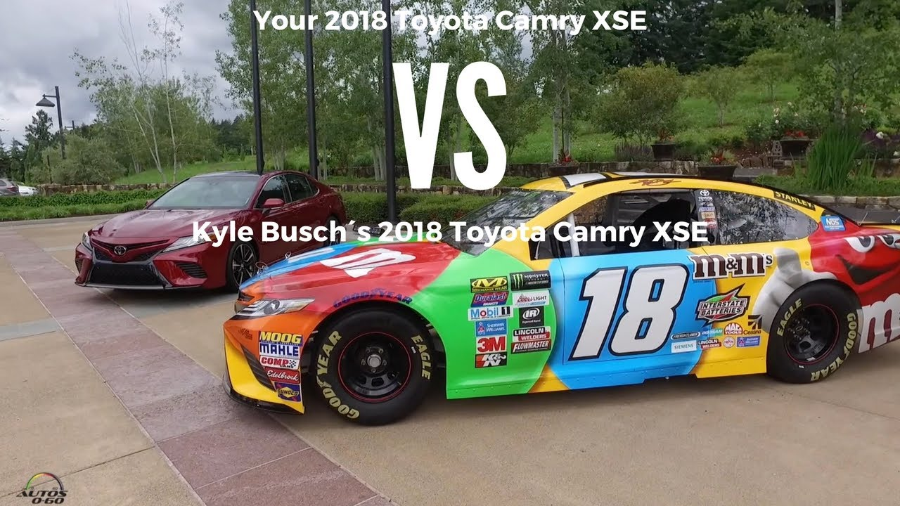 2018 Toyota Camry Xse Vs Monster Energy Nascar Cup Series