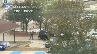 Caught on Camera: Video captures DPS trooper get shot, injured at Frisco apartment complex