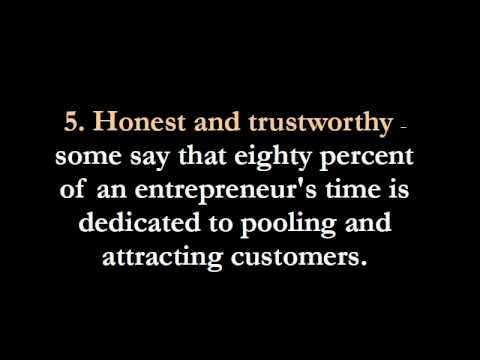richard branson entrepreneur characteristics 22 defining entrepreneur characteristics  richard branson, steve jobs and allon raiz have in common they're millionaire businessmen, yes, but certainly not the .