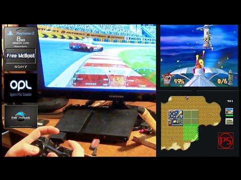PlayStation 2 Free MC Boot (играем с флешки, без чипа и без привода! =))