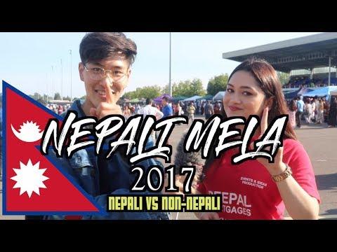 Asians vs Non-Asians (Nepali mela edition)