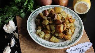 Картофель по-итальянски// Картофель с цедрой лимона,чесноком\Potatoes in Italian