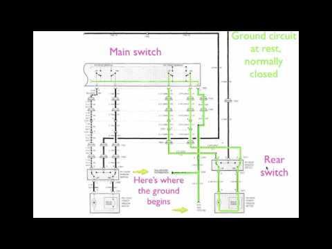 Window Motor Electrical    Diagram     YouTube