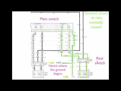 Window       Motor    Electrical    Diagram     YouTube
