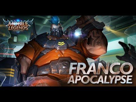 Mobile Legends: Bang bang! August Starlight Member Skin  Apocalypse Franco 
