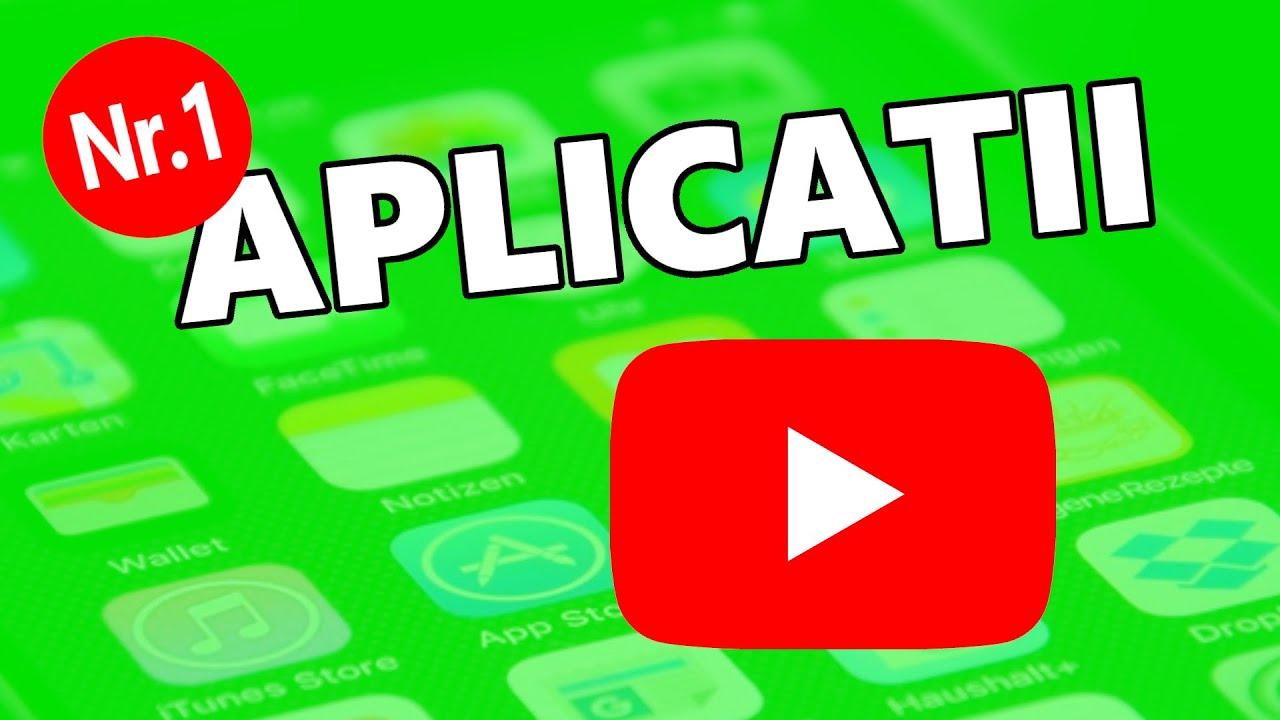 Cele mai bune APLICATII pentru YouTube 2020