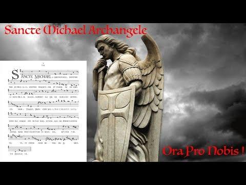 St Michael the Archangel Prayer in Latin & English (short form)
