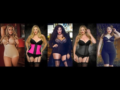 770e3ace6 Plus Size Model Reveiw of Diva s Curves Shapewear Compression by Amber  Johnson